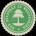 Siegelmarke Der Stadtrat zu Weissenberg W0334585.jpg