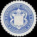 Siegelmarke Evangelische Gemeinde Saarlouis W0328032.jpg