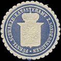 Siegelmarke Fürstl. Schwarzb. Katasteramt zu Sondershausen W0349685.jpg