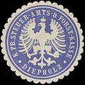 Siegelmarke K.Pr. Steuer-Amts- & Forst-Kasse Diepholz W0331679.jpg