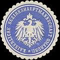 Siegelmarke K. Bezirkshauptmannschaft Omaruru W0337617.jpg