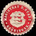 Siegelmarke Magistrat der Stadt Gröningen W0246732.jpg