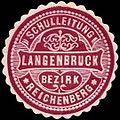Siegelmarke Schulleitung Langenbruck - Bezirk Reichenberg-Böhmen W0301264.jpg