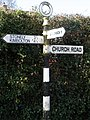 Sign Post pointing the way in Easton - geograph.org.uk - 1189722.jpg