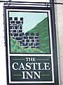 Sign for the Castle Inn, Pengenffordd - geograph.org.uk - 552935.jpg