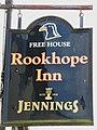 Sign for the Rookhope Inn - geograph.org.uk - 729871.jpg