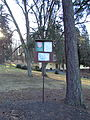 Sign of nature reserve Údolí Oslavy a Chvojnice, Vlčí kopec, Kladeruby nad Oslavou, Třebíč District.JPG