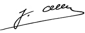 Joseph Oller - Image: Signatura de Josep Oller i Roca