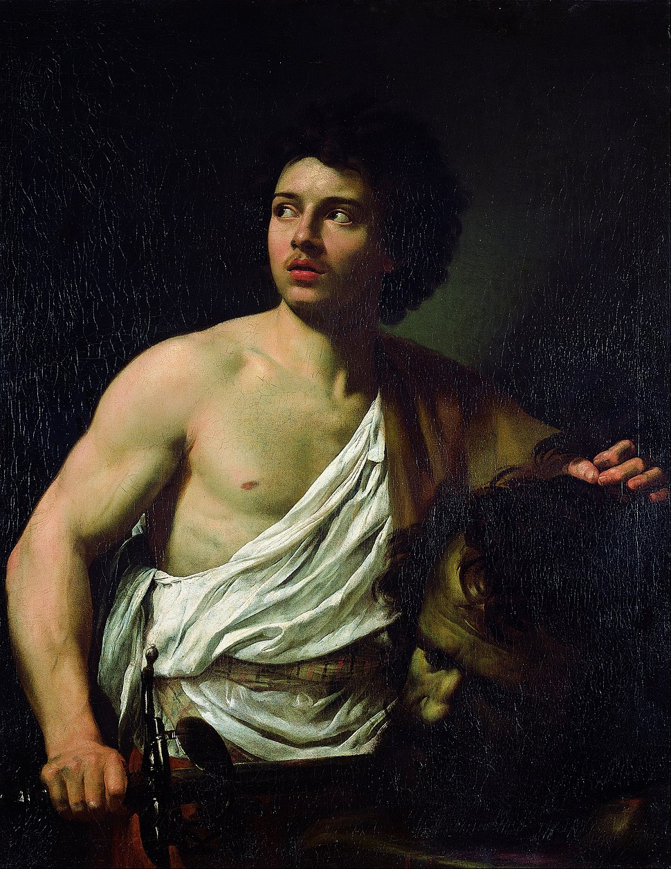Simon Vouet - David with the Head of Goliath - Google Art Project