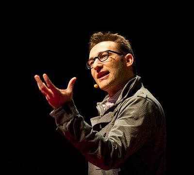 Simon Sinek, British/American author and motivational speaker