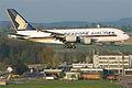 Singapore Airlines Airbus A380-841; 9V-SKJ@ZRH;16.04.2011 595cb (5628929699).jpg