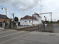 Sint-agatha Berchem station and crossing.jpg