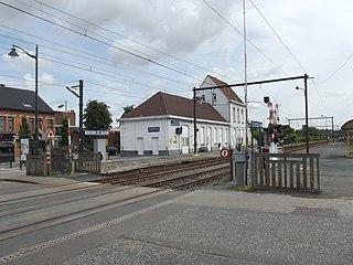 Berchem-Sainte-Agathe station railway station in Belgium