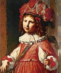 Portrait of Vincenzo Ferdinando Ranuzzi as Amor