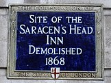 Site of the Saracen's Head Inn