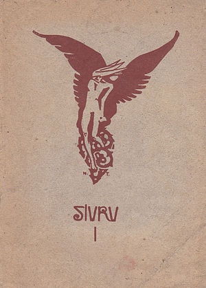 Siuru - Cover of their first issue