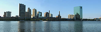 Toledo, Ohio - Downtown Toledo's skyline from across the Maumee River