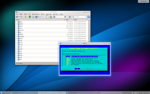 Slackware - Image: Slackware GNU Linux 14.1