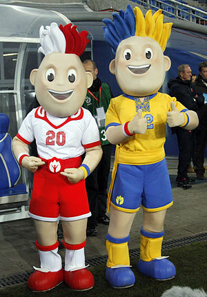 UEFA European Championship mascot - Image: Slavek&Slavko (3)