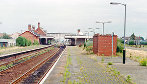 Sleaford railway station - Platform view