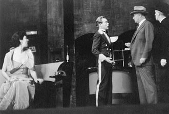 Robert Middlemass - Ilka Chase, Myron McCormick, and Robert Middlemass in 1934 stage production Small Miracle