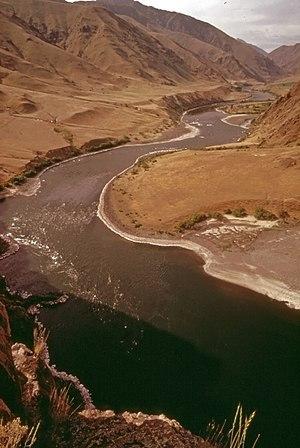 Shoshone (Snake River sternwheeler) - Hells Canyon, 1973