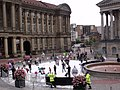 Snow in the City - Six Summer Saturdays - Fake snow in Chamberlain Square (6014608196).jpg