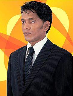 Abdulla Sodiq Maldivian politician