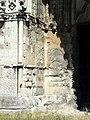 Soissons (02), abbaye Saint-Jean-des-Vignes, abbatiale, façade occidentale, portail du bas-côté sud, piédroit gauche.jpg
