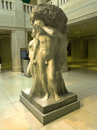The Solitude of the Soul - Lorado Taft, The Solitude of the Soul, Art Institute of Chicago.