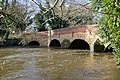 Somerset Bridge on River Wey - geograph.org.uk - 1599899.jpg
