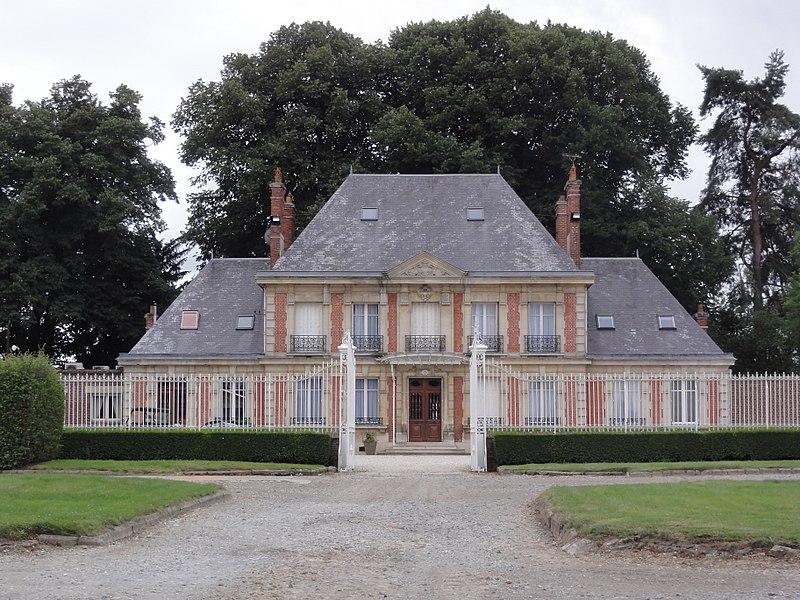 Sommette-Eaucourt (Aisne) château de Sommette