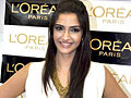 Sonam Kapoor unveils L'Oreal Golden Girl.jpg
