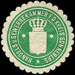 Sonneberg, Siegelmarke Handels- und Gewerbekammer.jpg