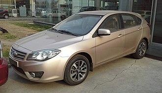 Soueast V5 - Soueast V6 Lingshi front