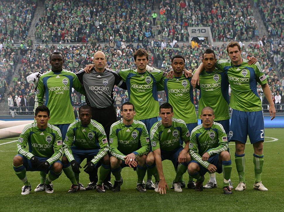 Sounders FC Inaugural Game Starting Lineup