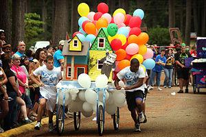 Southern Arkansas University - Family Day Bed Race