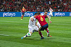 Spain - Chile - 10-09-2013 - Geneva - Gary Medel and Andres Iniesta 2.jpg