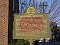 Spalding County Historical Marker.JPG