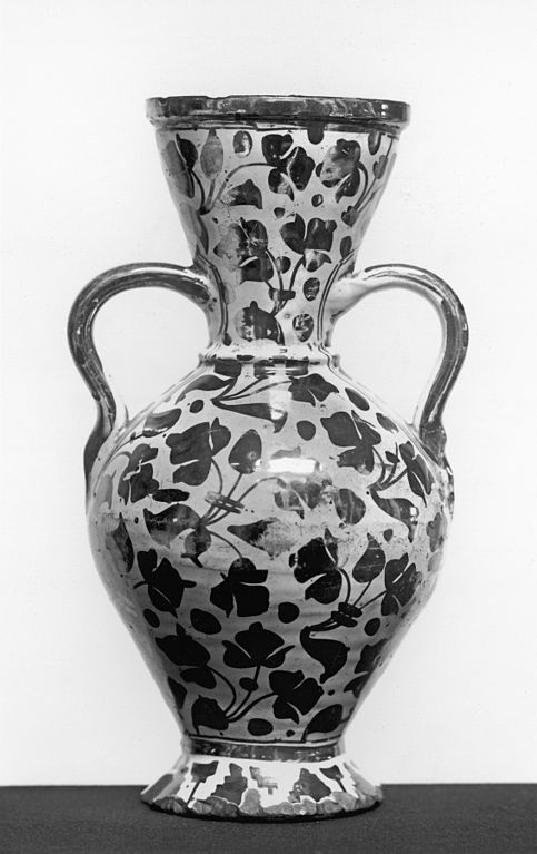 Filespanish Vase With Leaf Pattern Walters 481145g