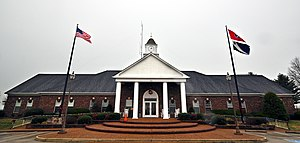 Spring Hill, Tennessee - Spring Hill City Hall, December 2013.