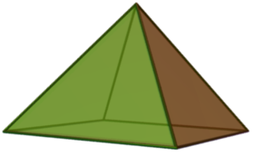 Image illustrative de l'article Pyramide à base carrée
