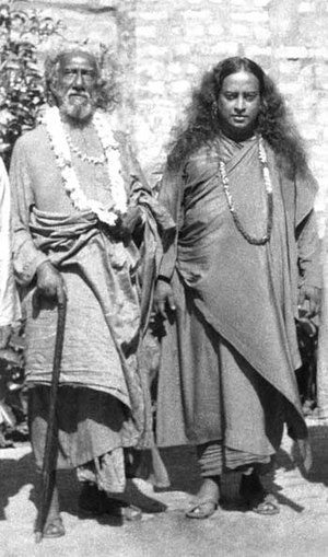 Swami Sri Yukteswar Giri - Sri Yukteswar and his disciple, Paramahansa Yogananda