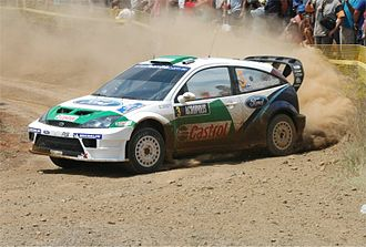 Acropolis Rally - Toni Gardemeister with Ford Focus RS WRC 05 at the 2005 event