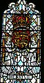 St.David's Cathedral - Thomas Becket-Kapelle 6 Fenster Heinrich II Wappen.jpg