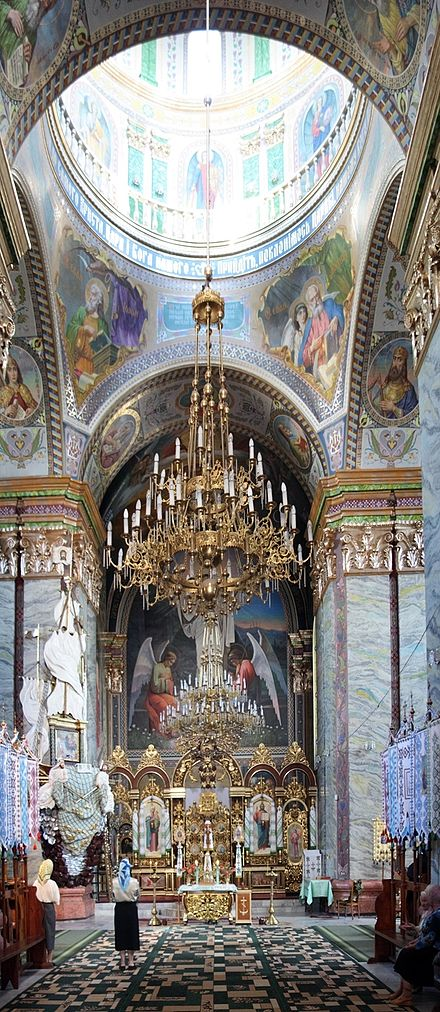 The interior of St. George's Church in Chervonohrad St. George's Krystynopol.jpg