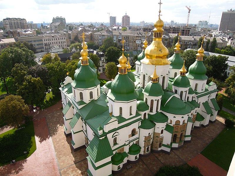 Софійський собор. Автор фото — Linus Friedel, вільна ліцензія CC BY-SA 3.0 (фото завантажене під час Вікі любить пам'ятки 2013)