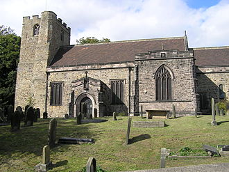 Haughton-le-Skerne - St Andrew's Church, Haughton-le-Skerne. Darlington's oldest church