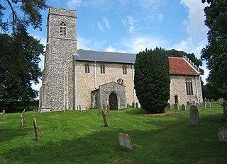 St Cross South Elmham Human settlement in England