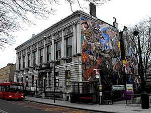 St George in the East (parish) - Image: St George's Town Hall, E1 geograph.org.uk 1145481